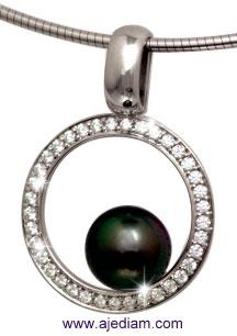 Circle_diamond_black_pearl_inside_Pendant_R101_Ajediam